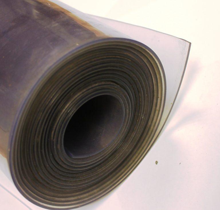 PVC lamel - portgardin, klar pvc, tdjhors, læ i løsdriften